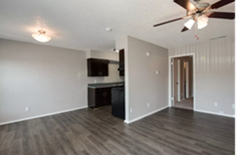Living/Kitchen at Listing #136206