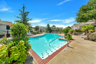 Pool at Listing #137587