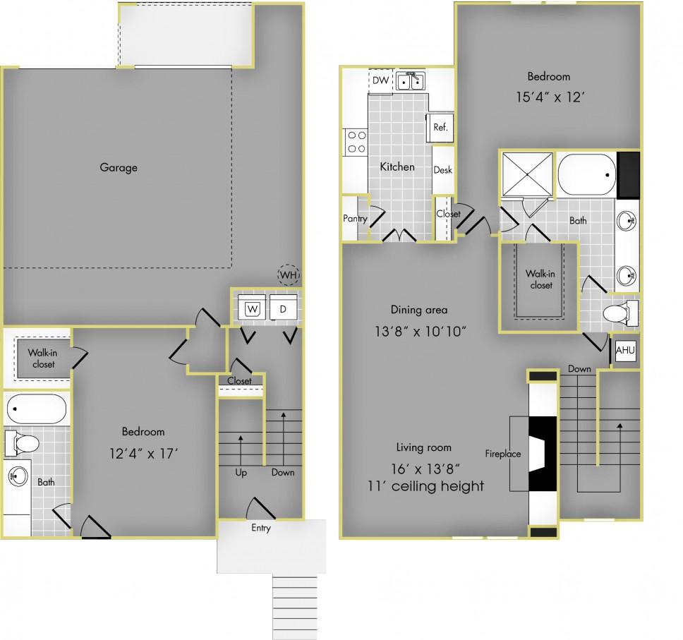 1,480 sq. ft. G floor plan
