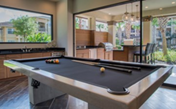 Gameroom at Listing #140116