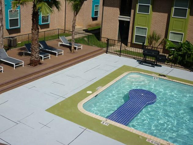 Pool at Listing #144073