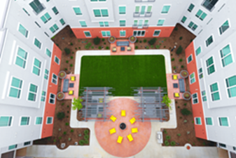 Courtyard at Listing #242448