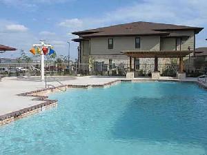 Pool Area at Listing #145169