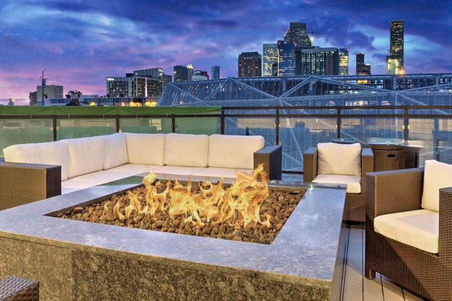 Fire Pit at Listing #282691