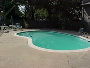 Pool Area at Listing #137434