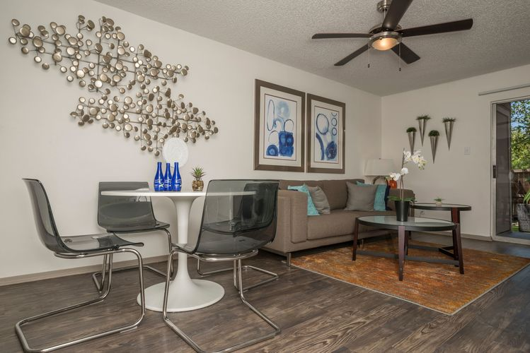 Living/Dining at Listing #135952