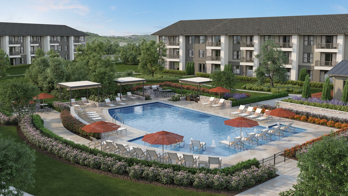 Hanover Lantana Hills Apartments Austin, TX