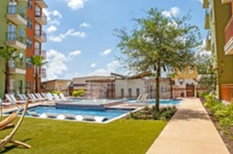 Pool at Listing #275098