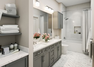 Bathroom at Listing #310346