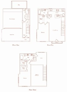 1,790 sq. ft. Salmanca Two floor plan