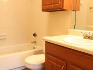 Bathroom at Listing #136980