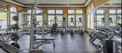 Fitness Center at Listing #227815