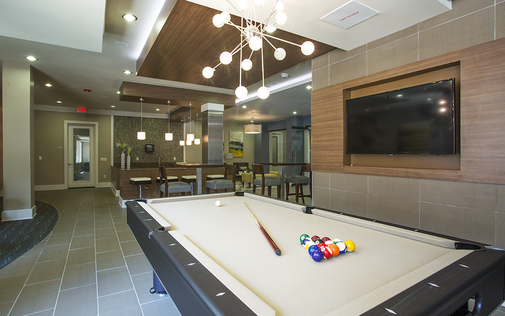 Gameroom at Listing #229090