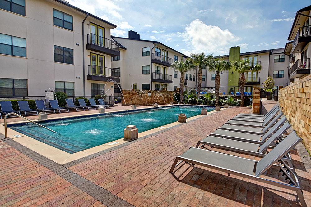 Pool at Listing #143175