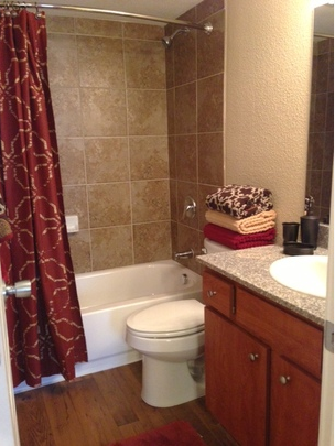 Bathroom at Listing #139885