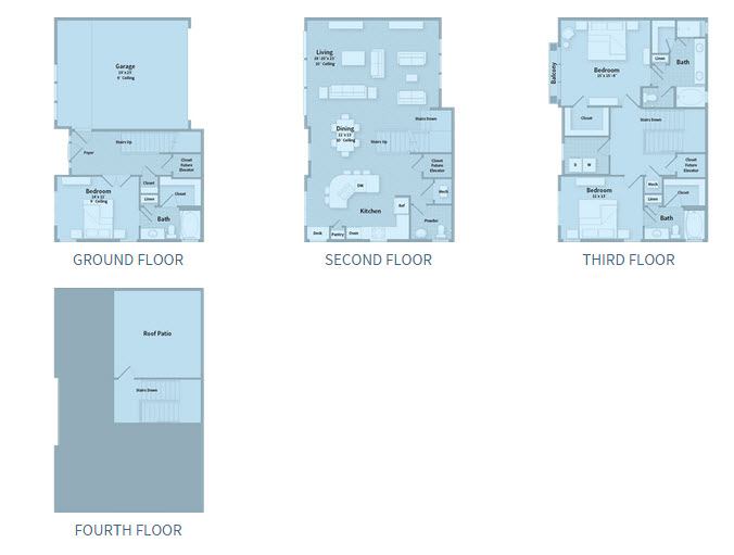 2,600 sq. ft. T2I floor plan