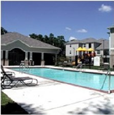 Pool Area at Listing #144498