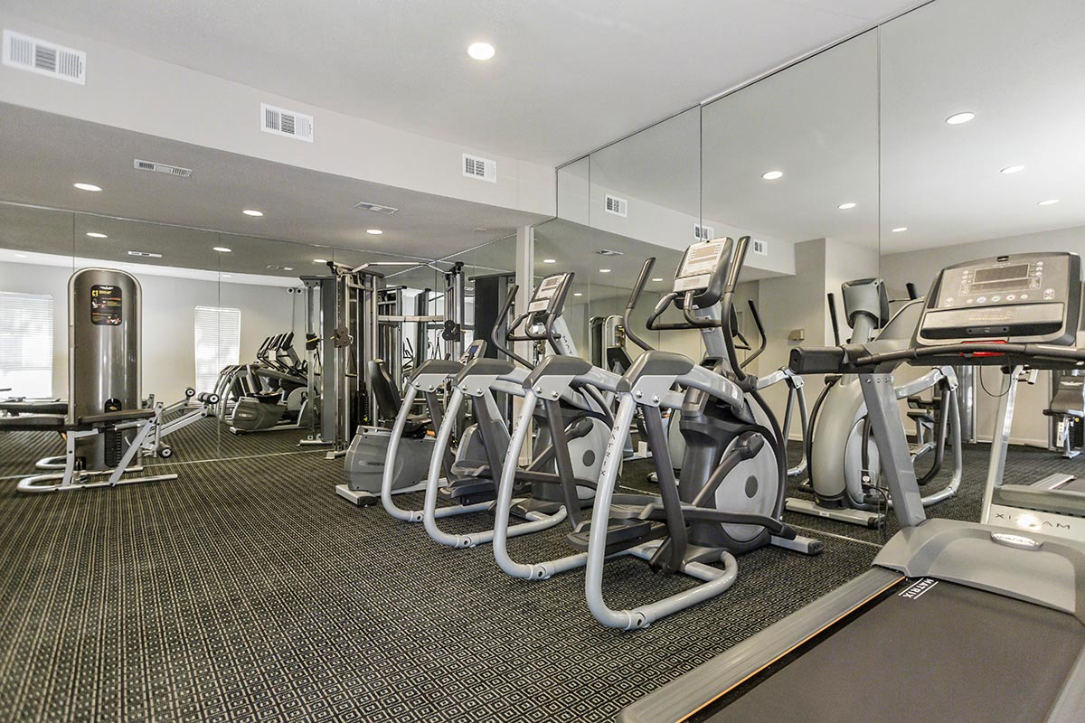 fitness center at Listing #138820