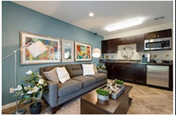 Living/Kitchen at Listing #140942