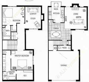 1,586 sq. ft. A floor plan