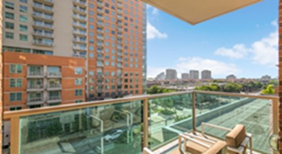 Balcony at Listing #144095