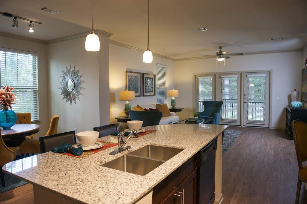 Living/Kitchen at Listing #282105