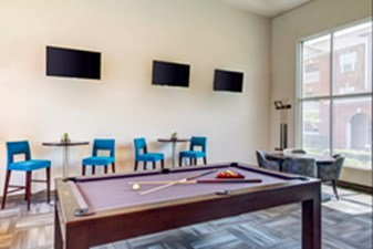 Gameroom at Listing #145145