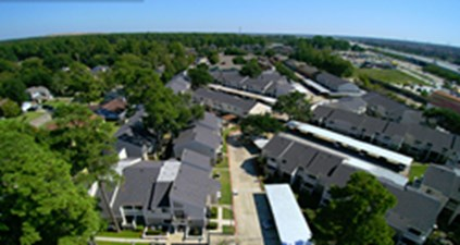 Aerial View at Listing #139208