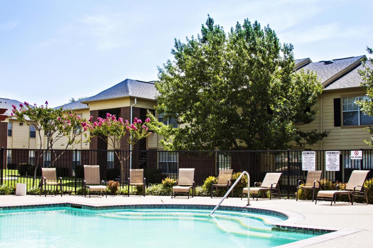 Pool at Listing #137828