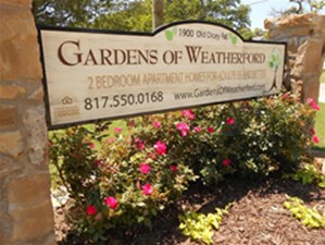 Gardens Of Weatherford Apartments 1387 For 2 Bed Apts