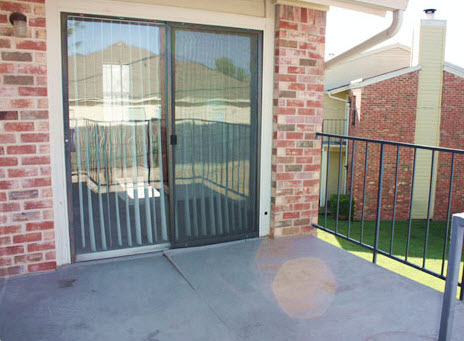 Patio at Listing #279488