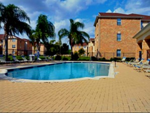 Pool at Listing #144474