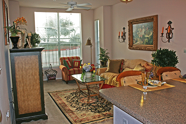 Living Room at Listing #144232