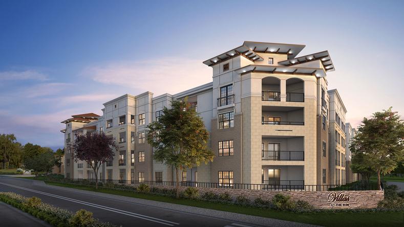 Villas at the Rim Apartments San Antonio TX