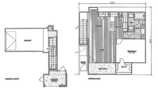905 sq. ft. A6/Pacaya floor plan