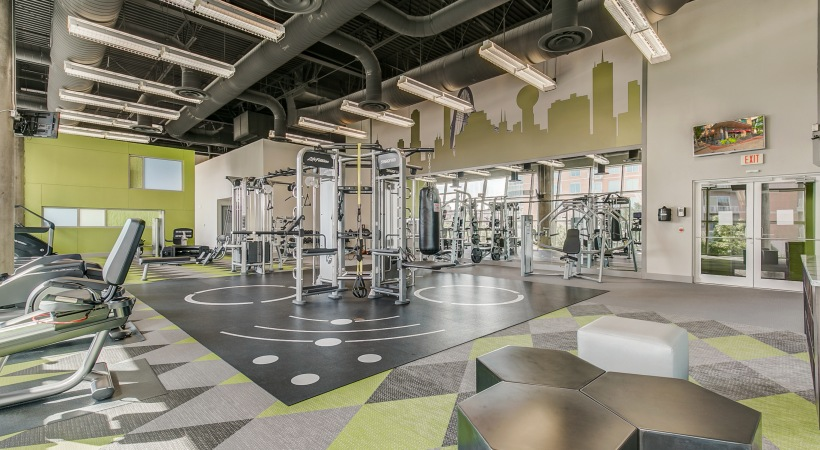 Fitness Center at Listing #144095