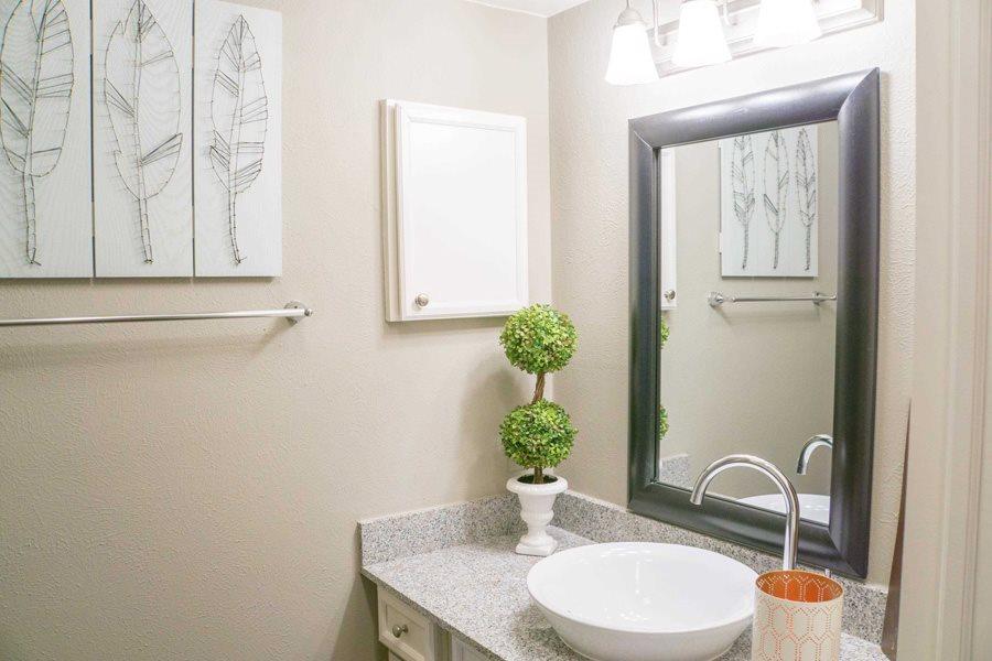 Bathroom at Listing #135686