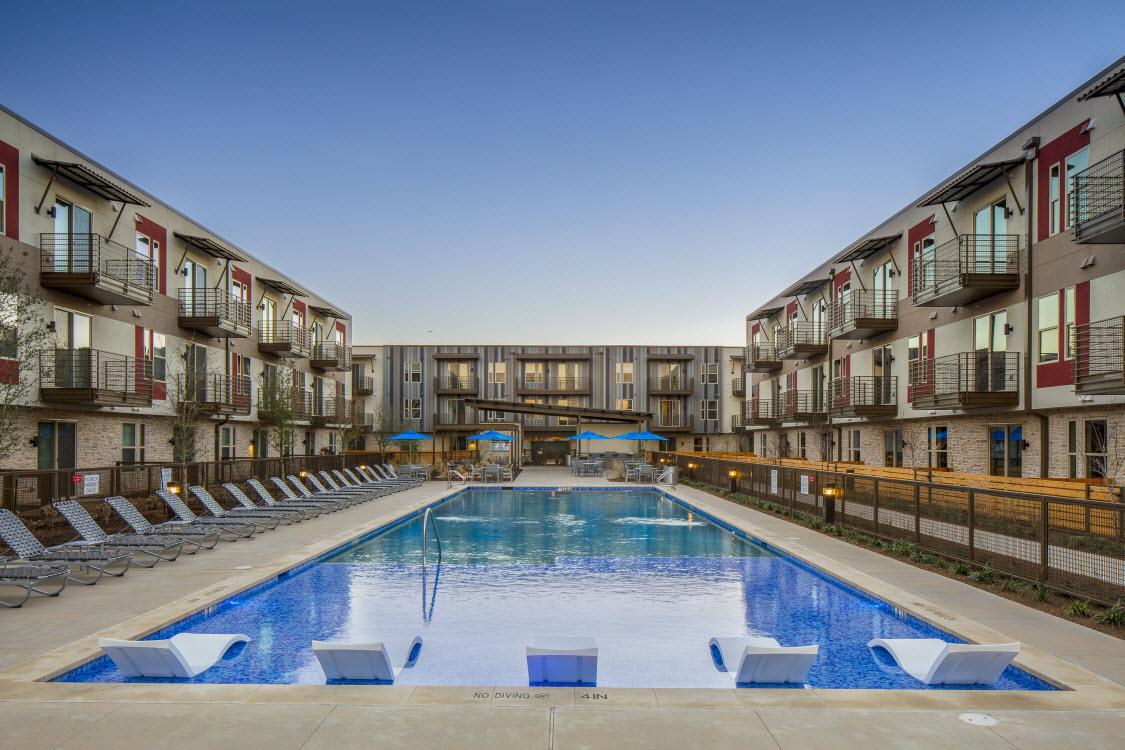 Pool at Listing #281855
