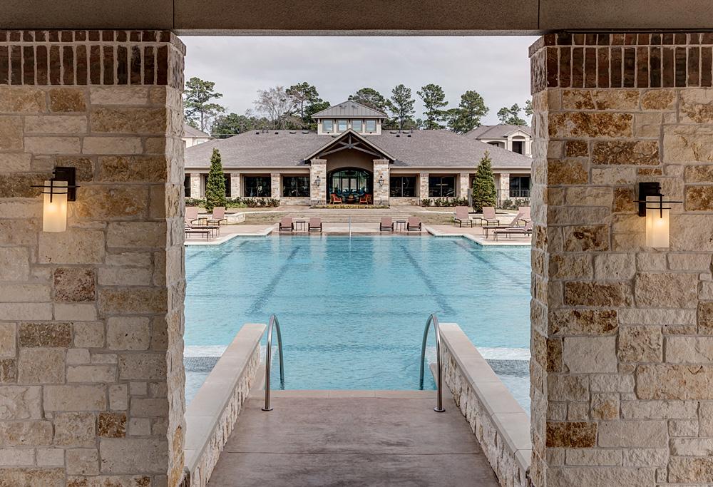 Pool at Listing #236586