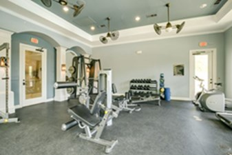 Fitness Center at Listing #250225