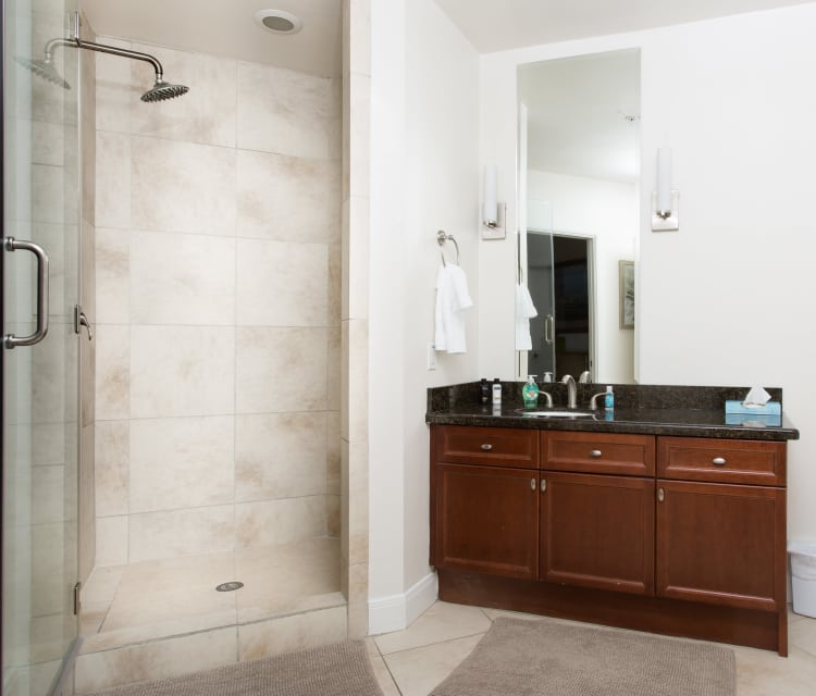 Bathroom at Listing #145747