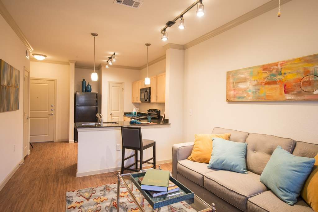 Living/Kitchen at Listing #276718