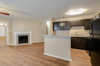 Living/Kitchen at Listing #136863