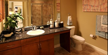 Bathroom at Listing #144763