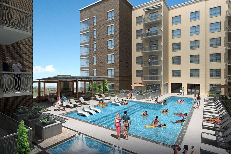 Pool at Listing #280690