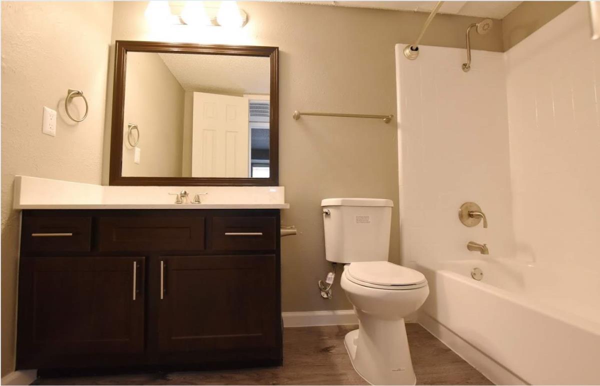 Bathroom at Listing #135930