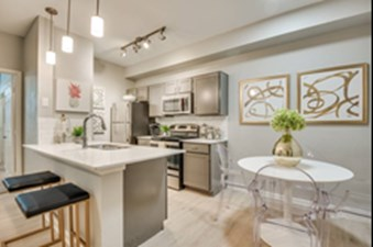 Dining/Kitchen at Listing #136521