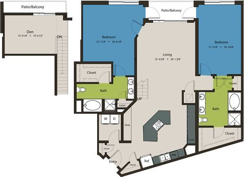 1,835 sq. ft. B9A-L1 floor plan