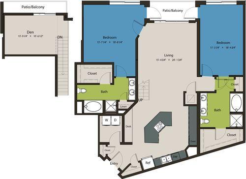 1,835 sq. ft. B9A-L1 floor plan