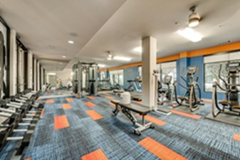 Fitness Center at Listing #149419
